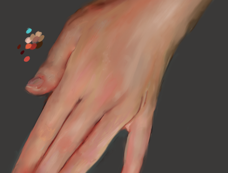 Quick Hand Painting